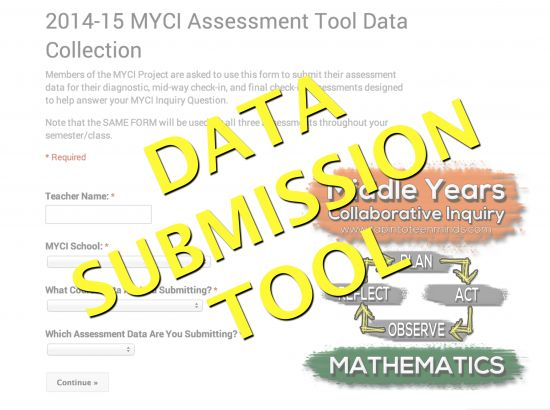MYCI Monitoring Tool Data Collection Form