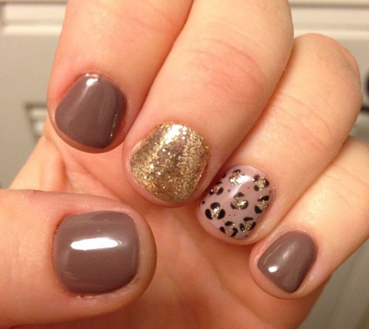 Leopard statement nails!