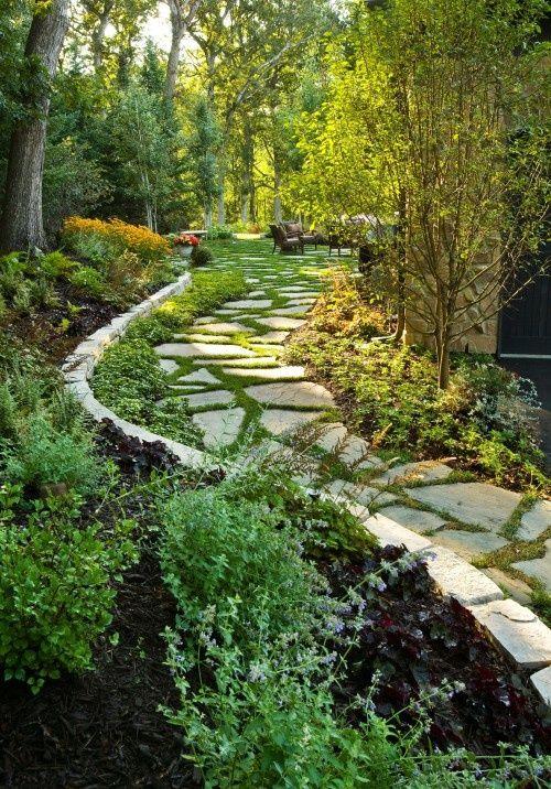 719 best stone path ideas images on pinterest. Black Bedroom Furniture Sets. Home Design Ideas