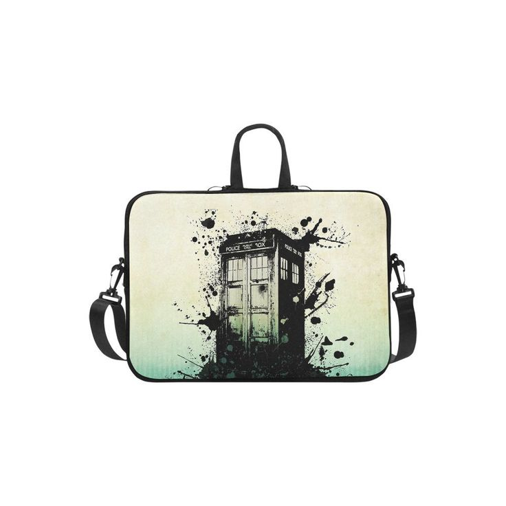 "Police Box Tardis Sleeve Case Messenger Bag for Laptop 10"" 11"" 13"" 14"" 15"" 15.6"" 17"" and Macbook"