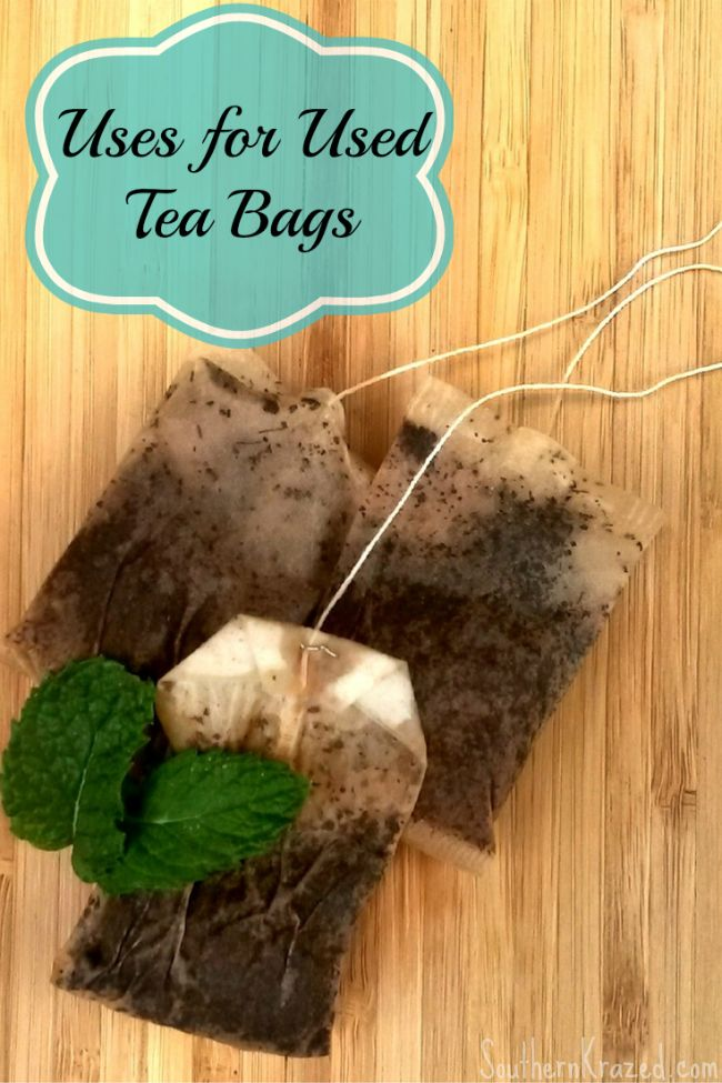 94 best reuse recycle repurpose images on pinterest good ideas build your own and bricolage - Uses for tea bags ...