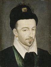 Henri III (1551 - 1589). Son of Henri II and Catherine de Medici. He married Louise of Lorraine but had no children.