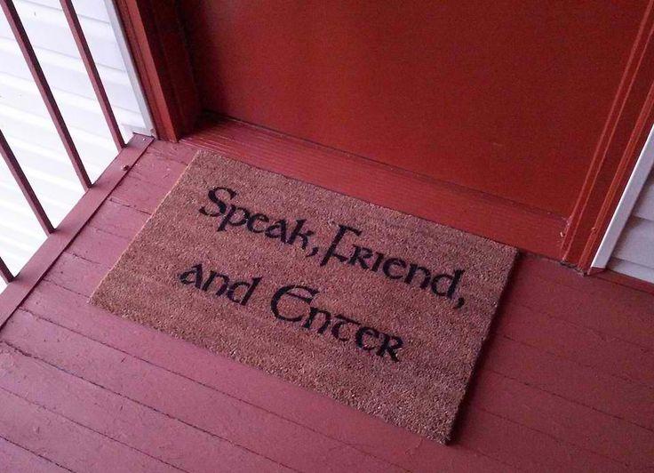 #doormat JRR Tolkien