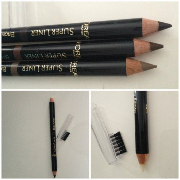L'Oreal Super Liner Brow Artist: a cool-toned brow pencil + wax tip to keep them in place
