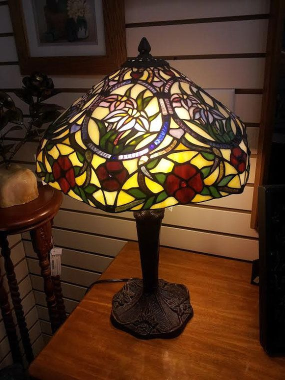 Price antique lampe tiffany antique tiffany table lamp forward nouveau