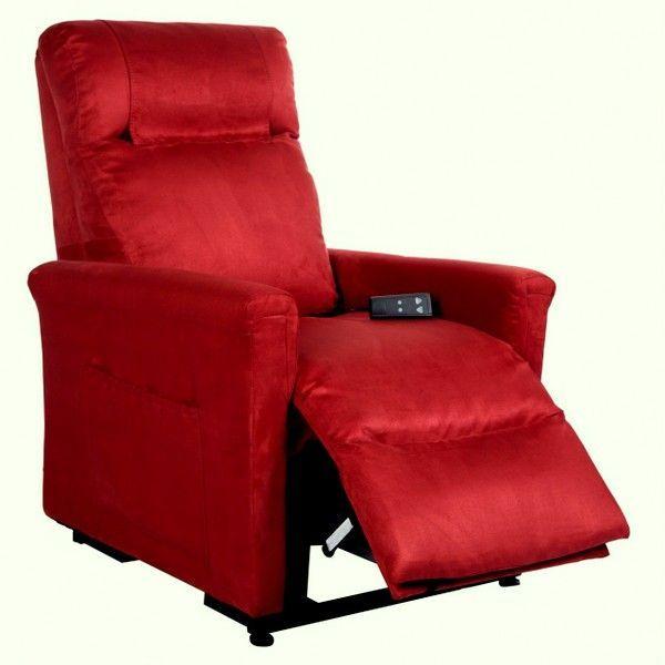 Poltrona Elettrica per Anziani e Disabili Alzapersona Relax Reclinabile Motorizzata OKIN BORDEAUX
