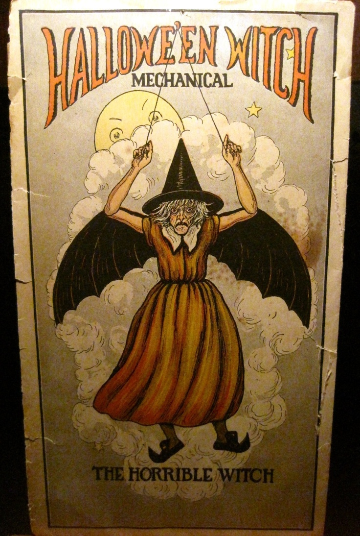 the horrible witch mechanical halloween decoration ebay - Halloween Decorations Ebay