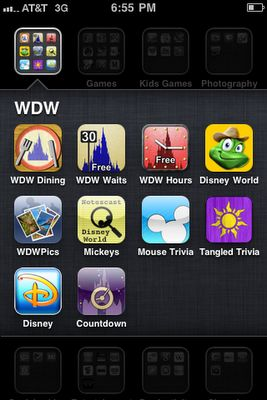 The iPhone, Apps,  Walt Disney World - The BEST iPhone Apps to use at Walt Disney World