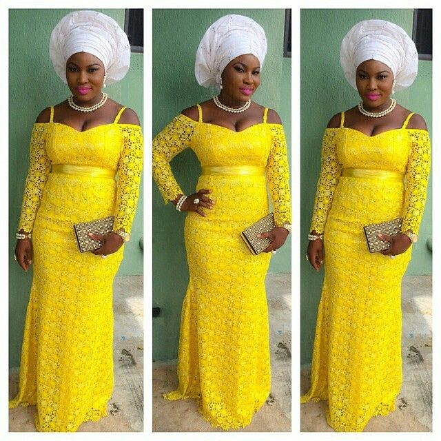 My Nigerian Wedding: Check Out Our Latest Aso-Ebi Styles: Colorful & Eye