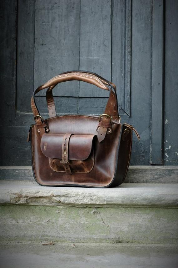 0a20a6967b39eb Leather Tote handmade Purse bag handmade brown leather bag handmade ...