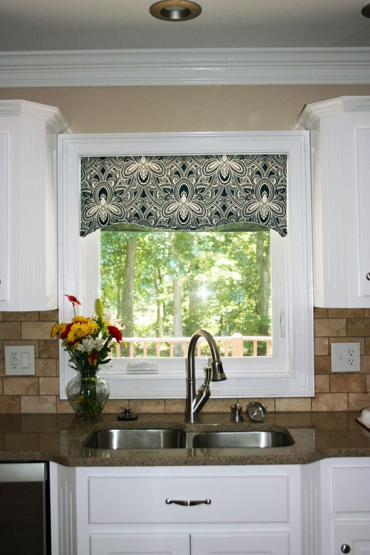 Kitchen Window 17 Best Ideas About Valances For Kitchen On Pinterest Kitchen
