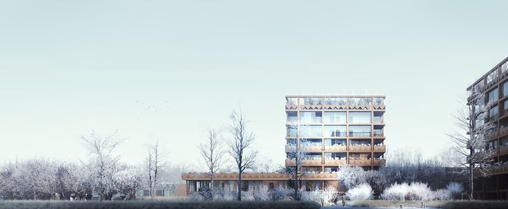 CIVIC architects - Stadsbiotoop - Den Haag | Image ©VERO Visuals