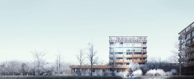CIVIC architects - Stadsbiotoop - Den Haag | Image ©VERO Visuals