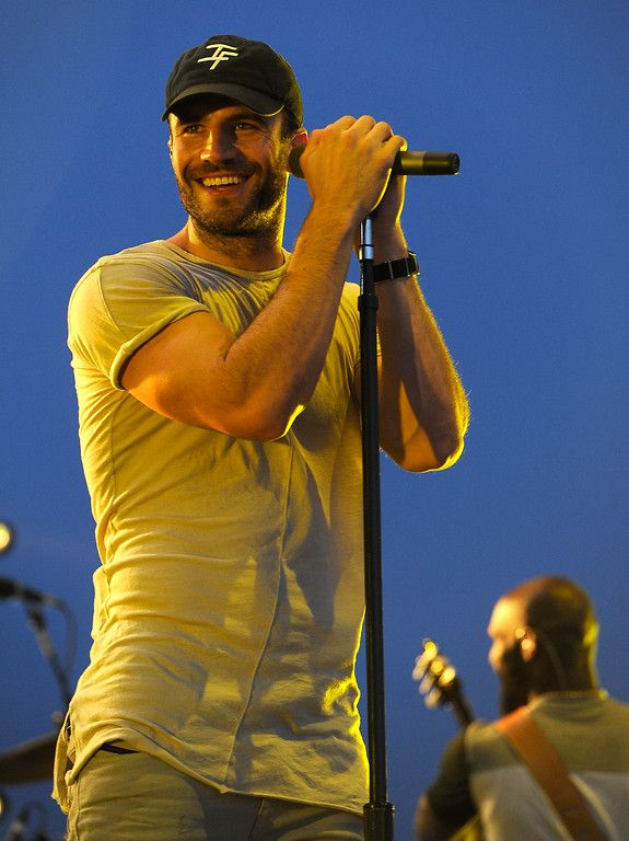 . Sam Hunt performs on the Mane stage during the Stagecoach Country Music Festival in Indio on Friday, April 29, 2016. (Photo by Rodrigo Pena for the Southern California News Group)