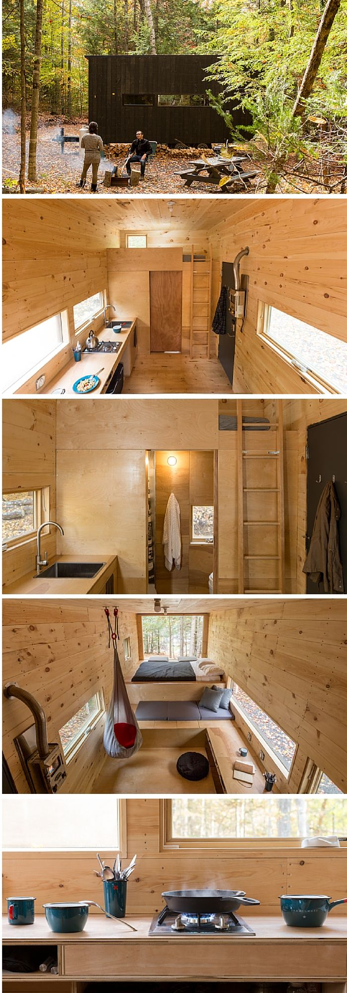 THE CLARA – 160 SQ FT TINY HOUSES ON WHEELS