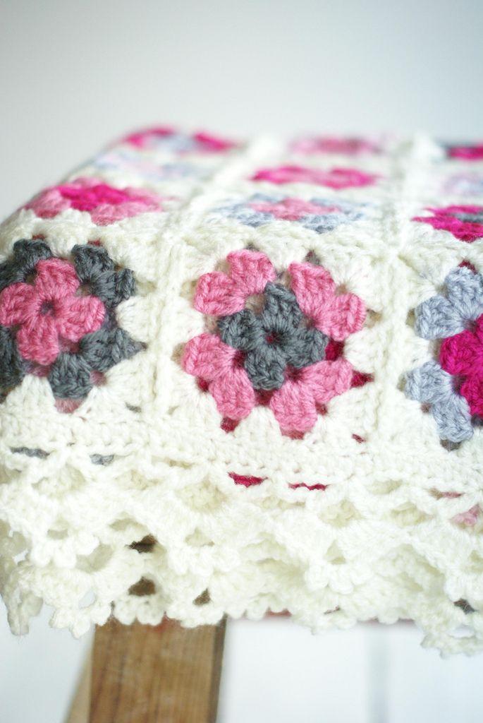 blanket géraldine | custom order for Géraldine from Paris | Ingrid Jansen | Flickr