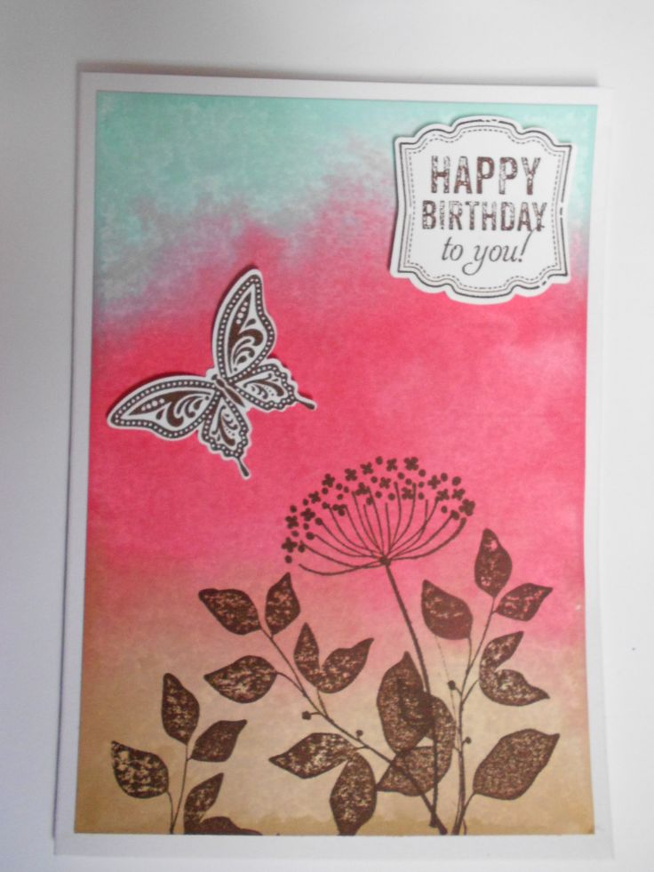 Stampin' Up Best of Butterflies & Summer Silhouettes