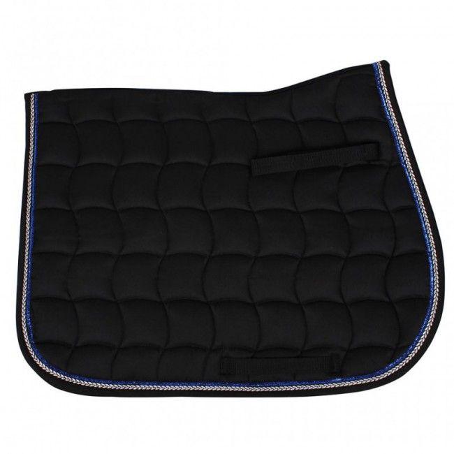 Mooi zwart #zadeldekje voor uw #minipaard. Bestel nu snel bij de grootste webshop voor minipaarden en #shetlanders !