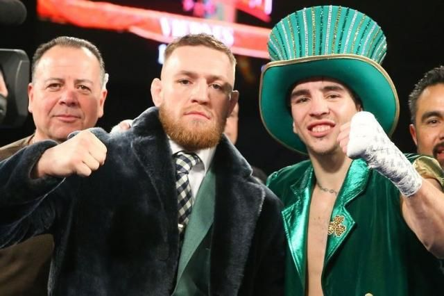 Michael Conlan to help Conor McGregor train for Floyd Mayweather fight
