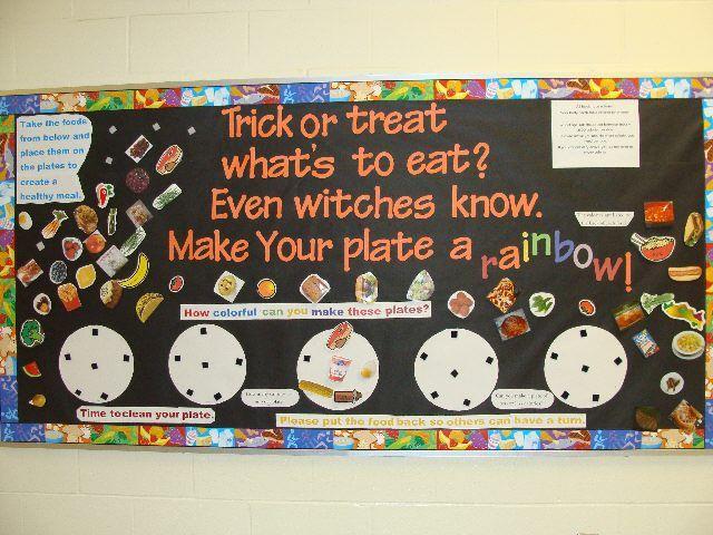 halloween bulletin board ideas | Submitted by Jill Garneau who teaches at Prairieland Elementaryin ...