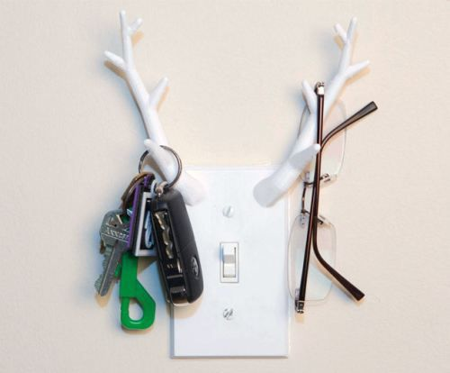 Antler Switchplate Light Cover [SOURCE]