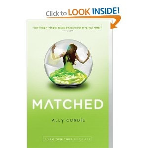 Matched (Trilogy)-- Allyson Condie