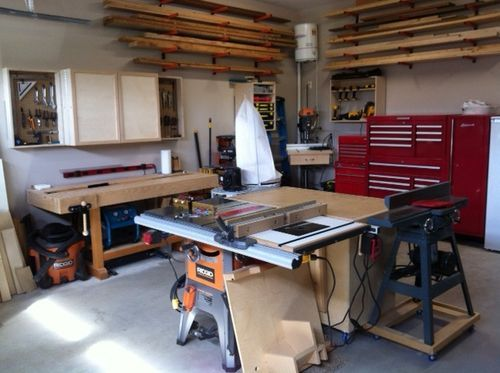 Lets see your 20x20 shops by berber5985 lumberjocks for Kit da garage 20x20