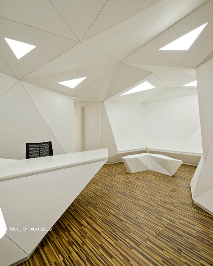 77 m2   Tehran, Iran   2011   Interior Design   Healthcare   77 m2   Design: Reza Mafakher, Reza Najafian. more info: http://www.xemaarchitects.com/projects/detail/56  ■ #77m2 #interiordesign #architecture #xema #minimal #avantgarde #rezamafakher #tehran #iran #xema_the_evolutionizer #dentist #clinic #clinic_design #modern #spaces #projects #lights #interiors #projects #awards #architecture_Award