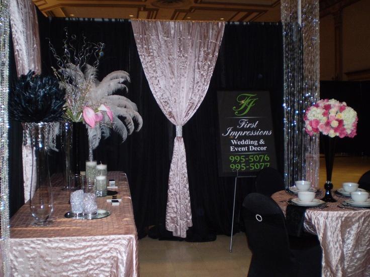 2013 Wedding Odyssey Booth by First Impressions Wedding and Event Décor..... www.weddingodyssey.ca