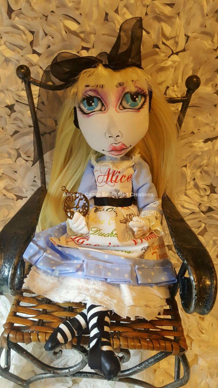 Alice in Wonderland By Carma Enchanted dolls