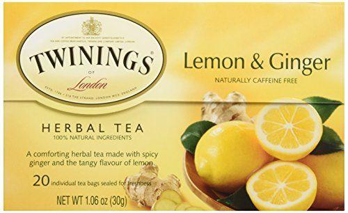 Twinings Tea Lemon and Chinese Ginger Tea, 20 ct Twinings