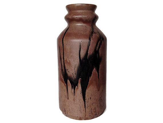 Rare Large Floor Vase Blue Mountain Pottery by NoNameCatVintage