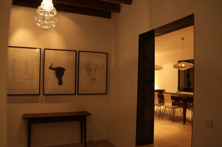 Hallway Villa Emilia, Soller