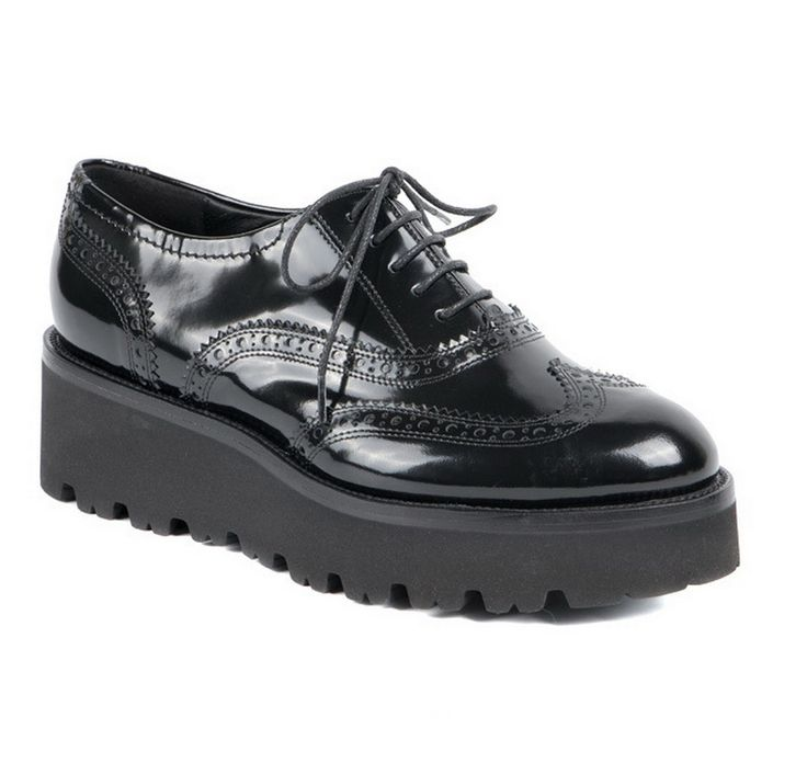 Осень 2016. Модная женская обувь - оксфорды