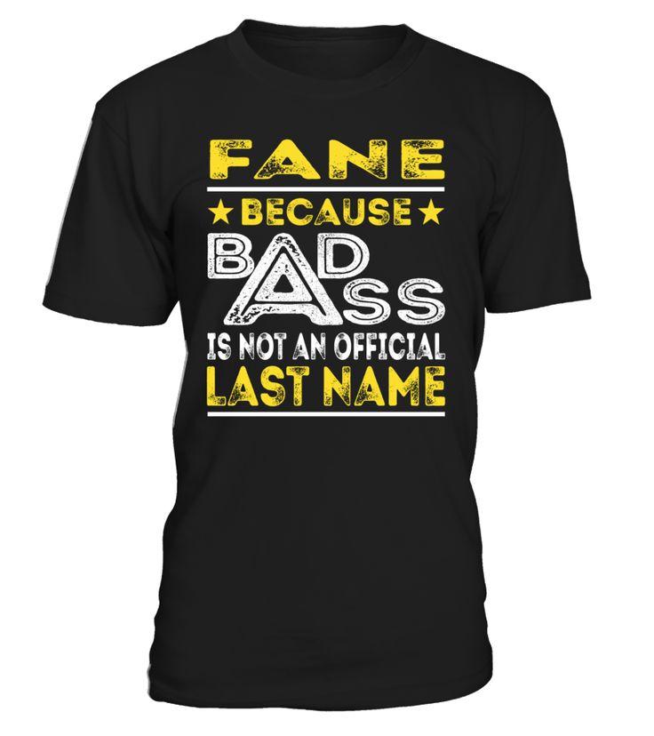 FANE - Badass #Fane