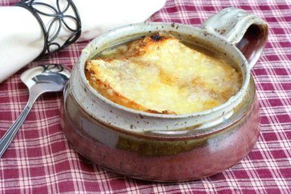 Francouzská cibulová polévka