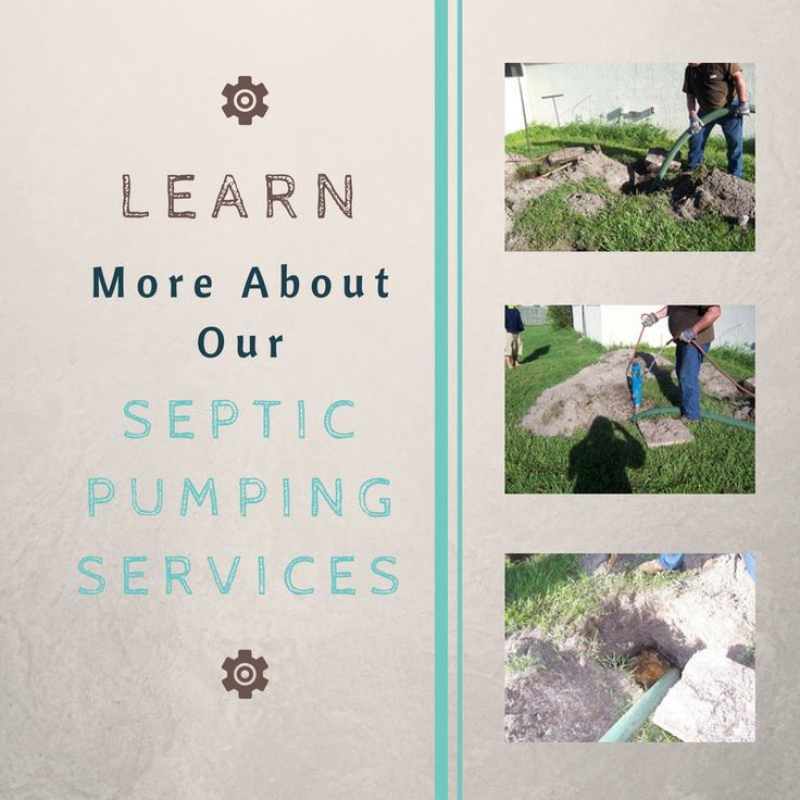 Learn More About Our Septic Pumping Services