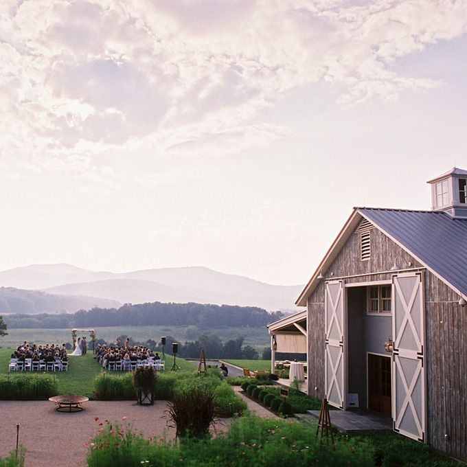 Romantic Wedding Venues in the US - Pippin Hill Farm & Vineyard. Our spot October 25, 2014!