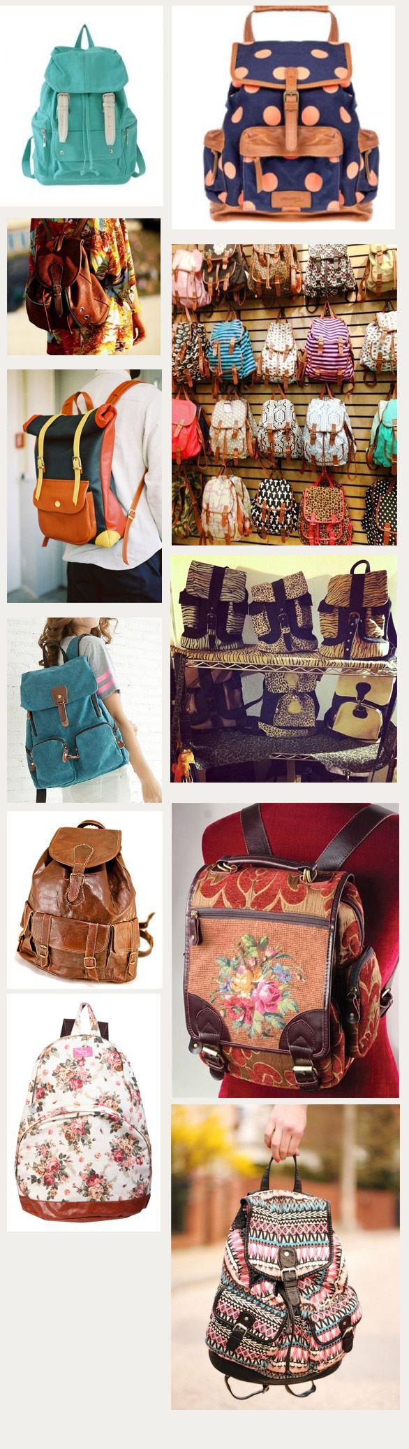 Tendencia: Mochilas vintage - Tiendas Dressup Providencia