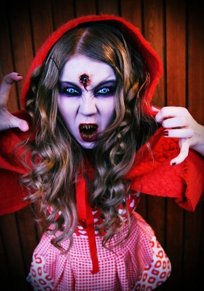 Zombie Little Red Riding Hood