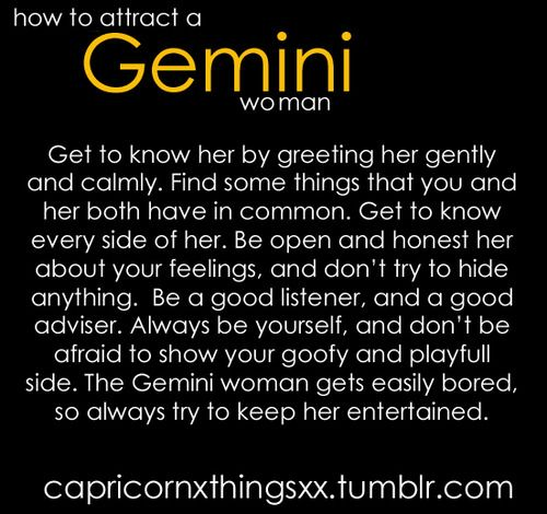 How to make love to a gemini woman