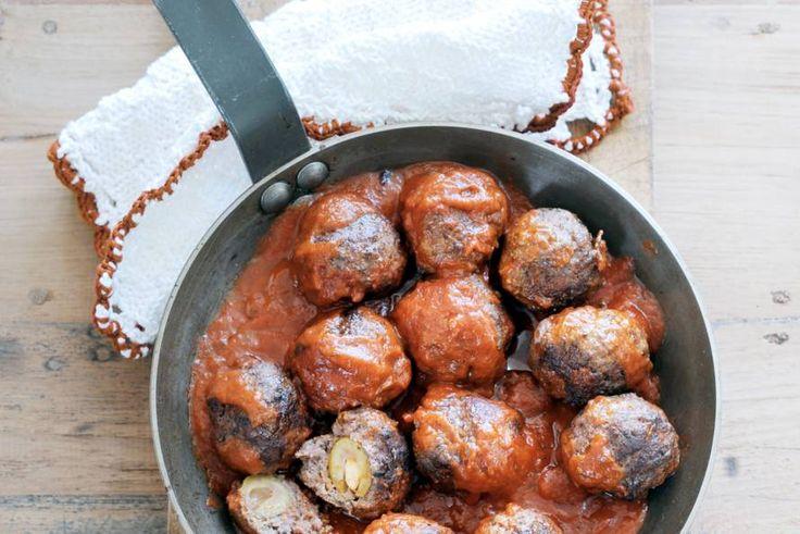 Aan de rol met deze heerlijke Italiaanse olijfgehaktballen - Recept - Allerhande