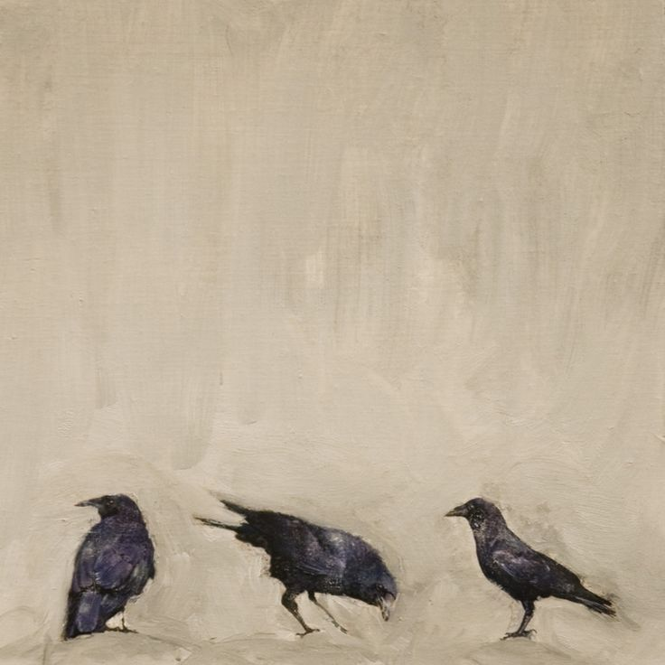 """Saatchi Online Artist: Brian Barrer; Photography Photography """"untitled crows"""""""