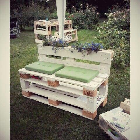 11 best Gartenmöbel aus Paletten images on Pinterest Pallet - küche aus paletten