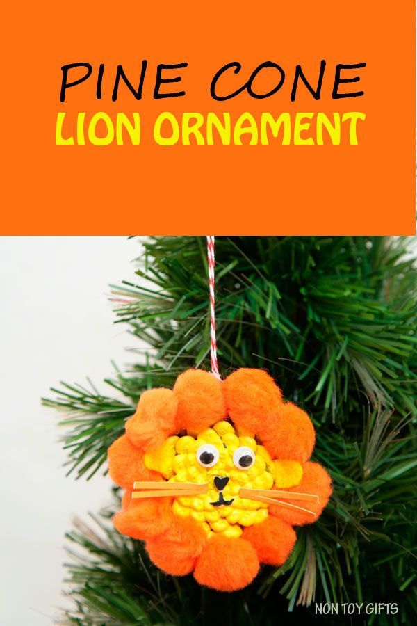 57 best images about pine cones on pinterest reindeer for Pine cone christmas ornaments for kids