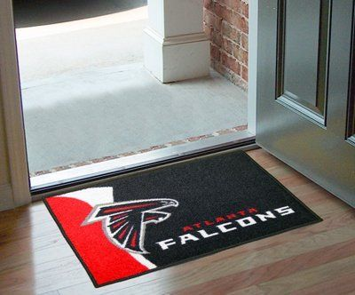 """Atlanta Falcons Starter Rug 20""""x30"""" by Fanmats. $13.68. Atlanta Falcons Starter Rug 20""""x30""""Decorate your home or office with area rugs by FANMATS. Made in U.S.A. 100% nylon carpet and non-skid recycled vinyl backing. Officially licensed and chromojet printed in true team colors. Please note: These products are custom made. The normal lead time is about 7-10 business days. However, the putting mats and carpet tiles do take a little longer, about 14-21 business days.***This item ..."""