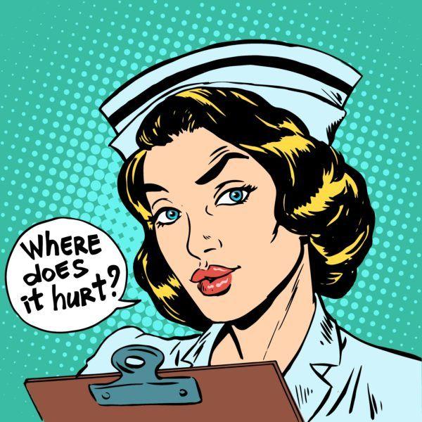 Where-does-it-hurt-nurse-question