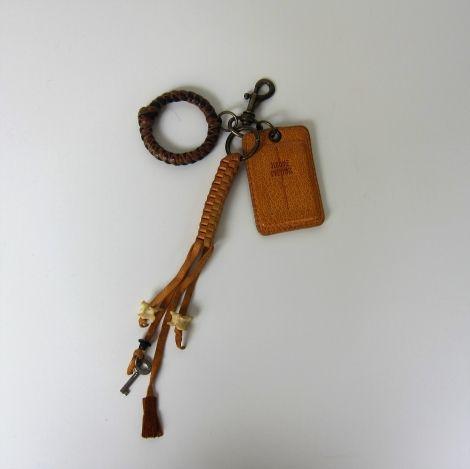 Keyring JEROME DREYFUSS Beige, camel