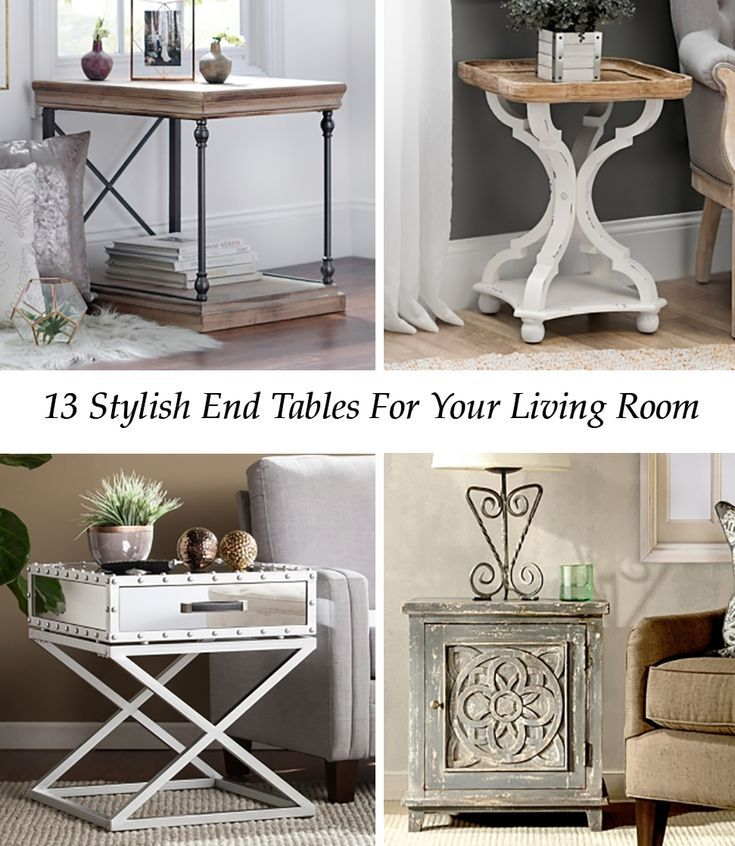 Stylish End Tables For Every Design Style – Beautiful Picks!