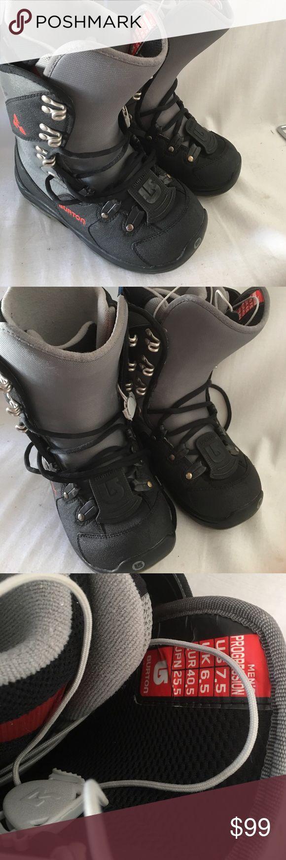Burton ski boots size 7.5 men's Looks great! Burton Shoes Rain & Snow Boots